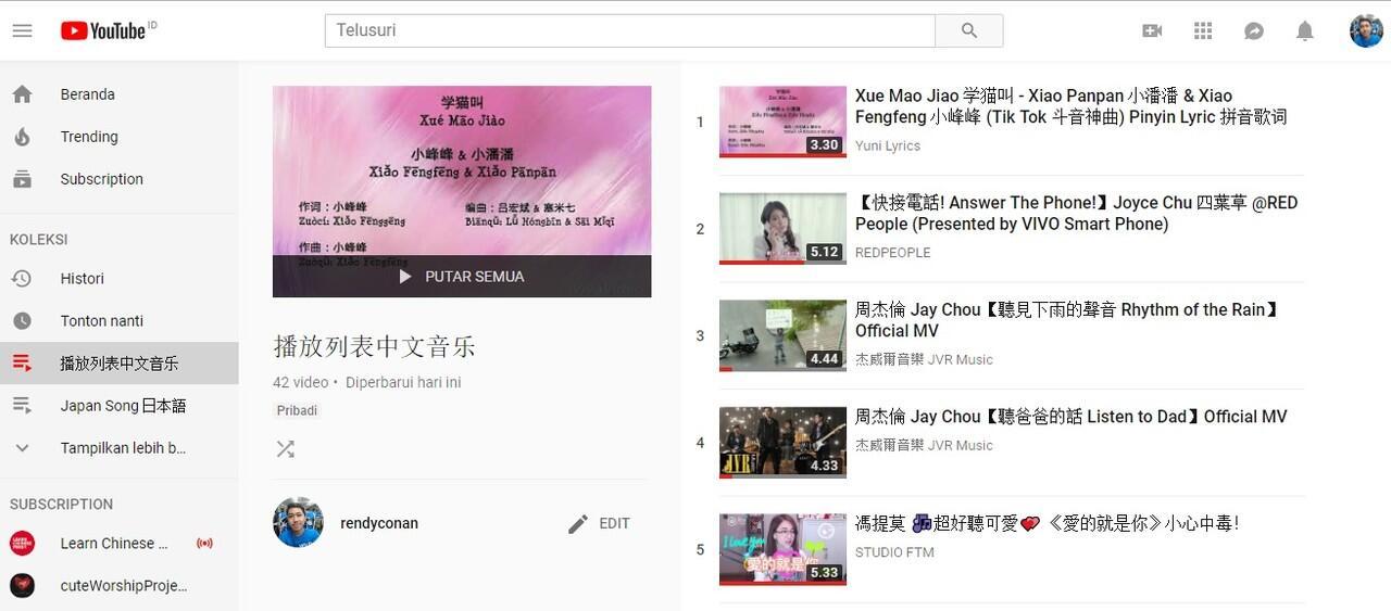 [MUSICOC] #Playlist Chinese Music yang Menemani Gue Saat Bekerja #AslinyaLo