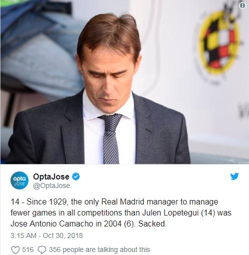 Real Madrid pecat Lopetegui, siapa yang cocok gantiin doi, Conte atau Opa Wenger?