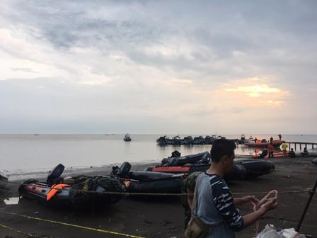 Pencarian Lion JT610 Mencapai Pantai Indramayu