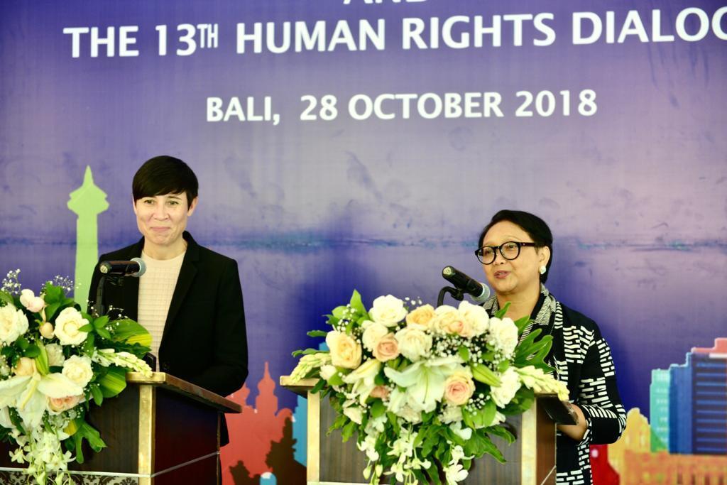 Indonesia-Norwegia Perkuat Kemitraan di Berbagai Bidang