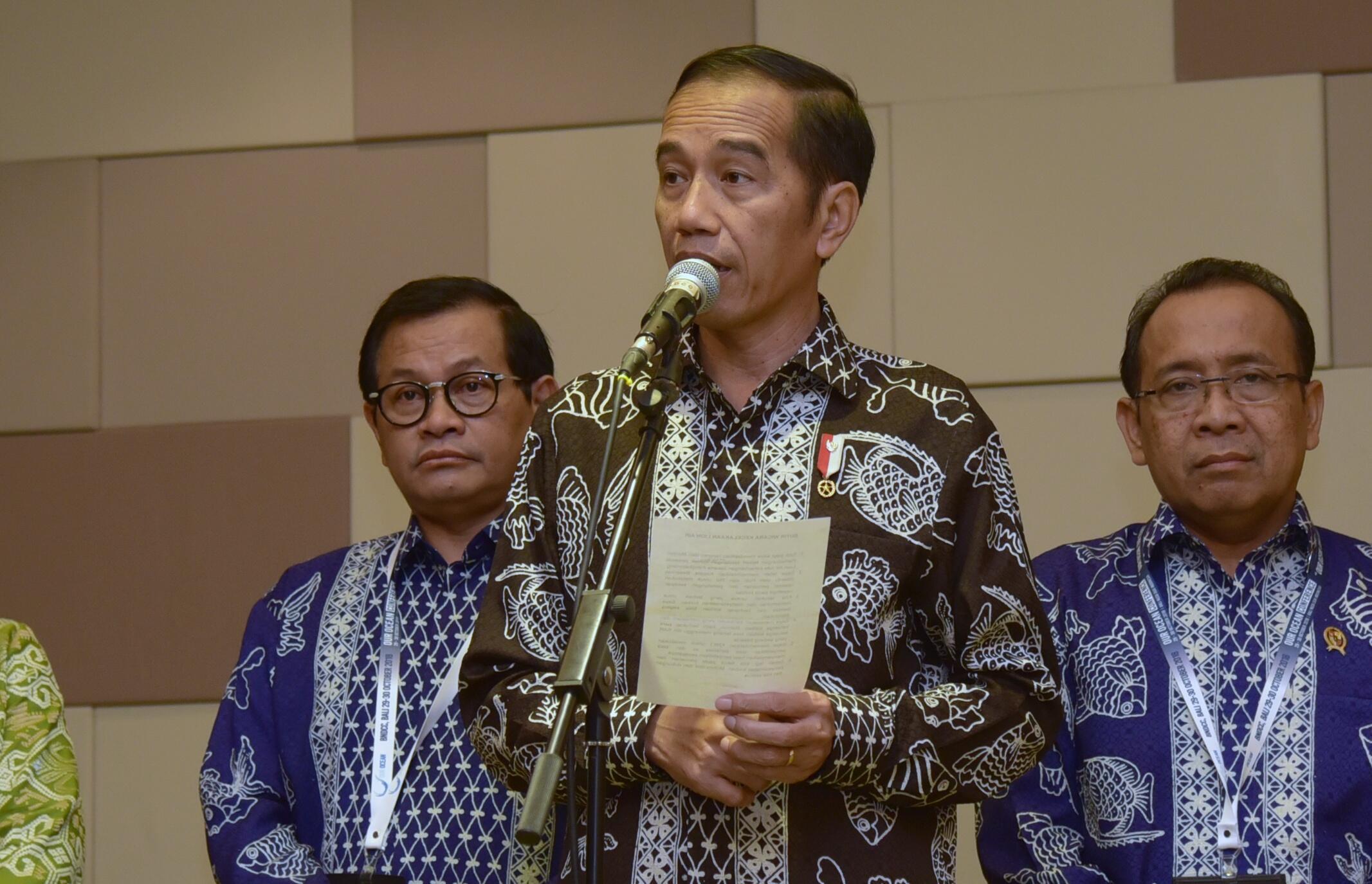 Minta Keluarga Tenang, Presiden Perintahkan Operasi Pencarian Korban Lion Air JT-610