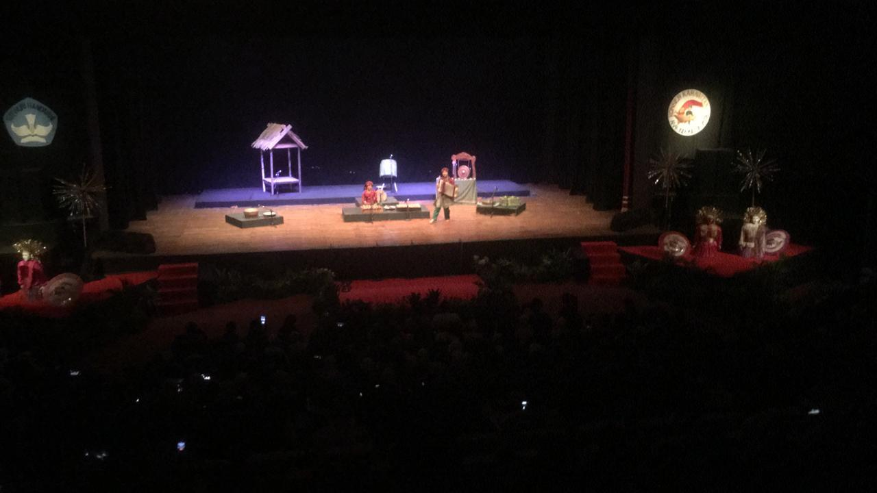Prestasi Anak-Anak Palu di Konser Karawitan Anak Indonesia 2018