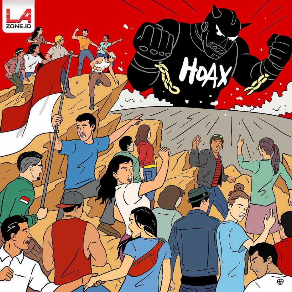 Bangkit Pemuda Indonesia! Bersatu Melawan Hoaks