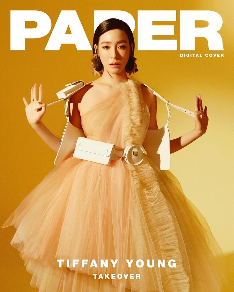 Intip Foto-foto Tiffany Young untuk Paper Magazine: Cantik nan Menggoda