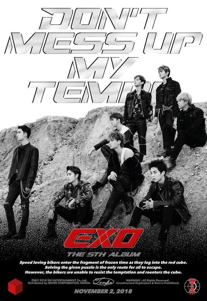 Pre-Order Album EXO Tembus Angka 1,1 Juta Kopi