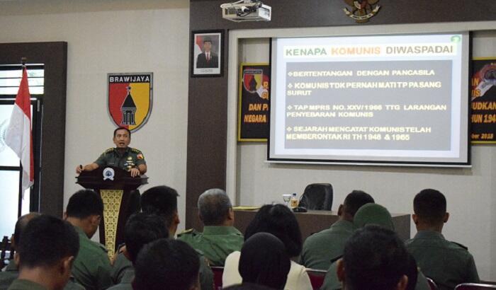 Kasiter Rem 081/DSJ: Komunisme Masih Hidup dan Terus Galang Kekuatan di Indonesia