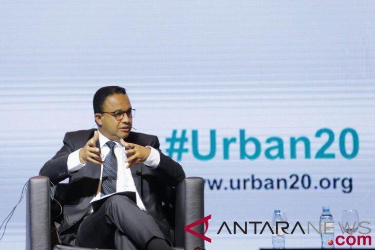 Anies Paparkan Penataan Kampung di U20 Global Summit