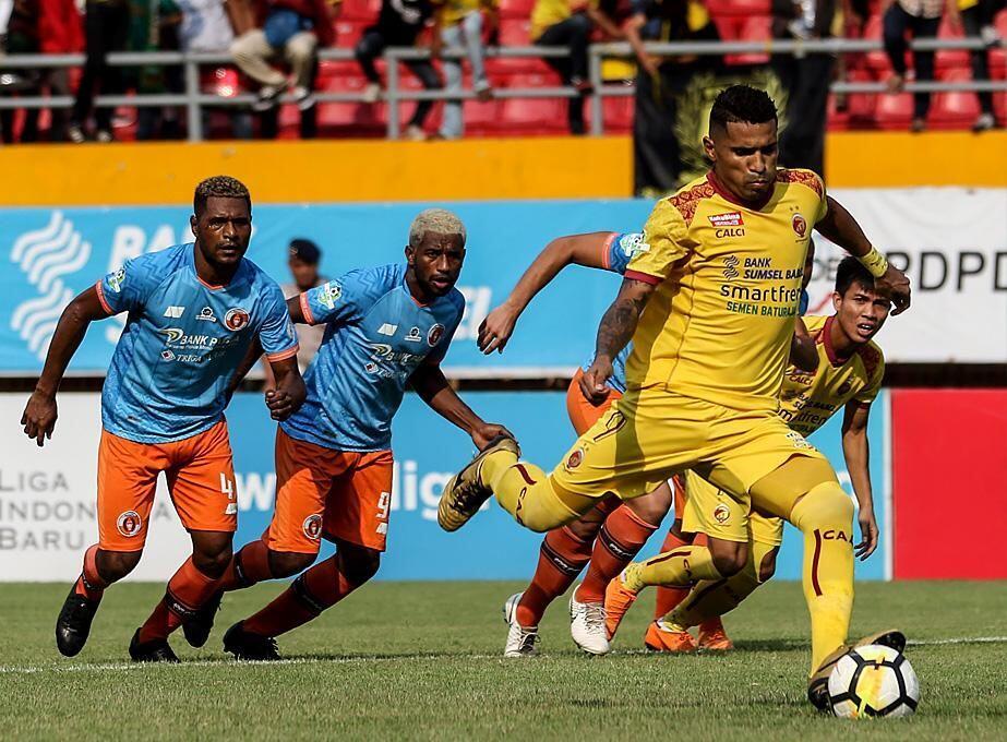Putus Episode Buruk, Sriwijaya FC Lumat Perseru di Jakabaring