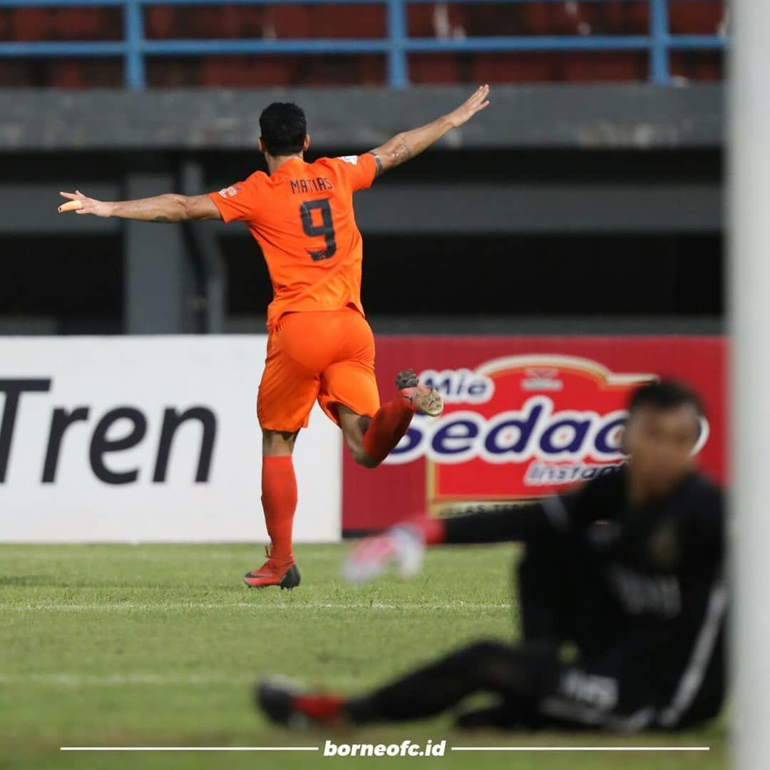 Trigol Matias Conti Bantu Borneo FC Menekuk Bhayangkara FC