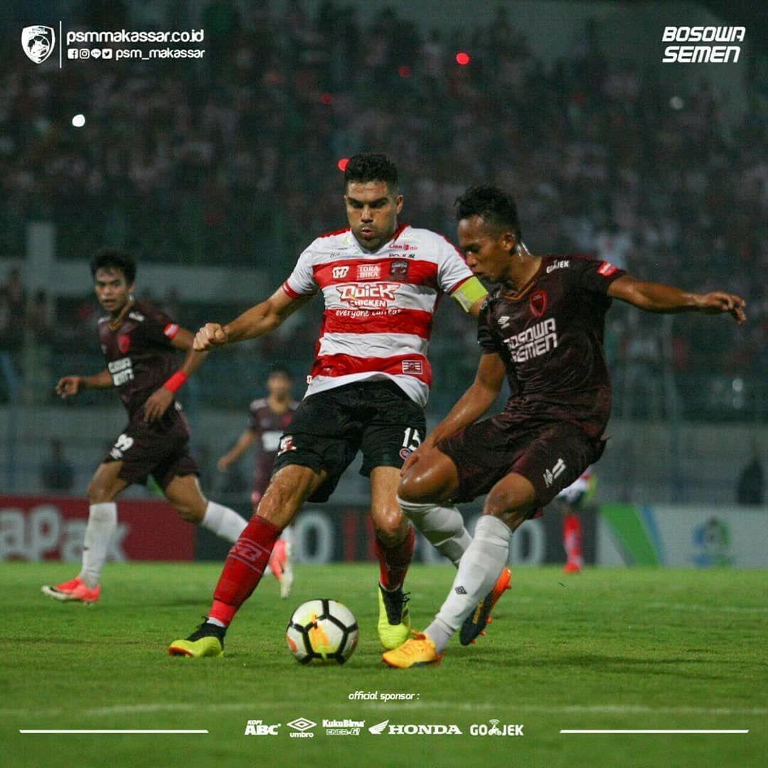 Laju Dihentikan Madura United, Pelatih PSM: Kami Main di Bawah Level