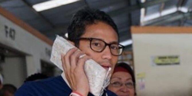 Sandiaga Uno tantang Jokowi lomba mencari ukuran tempe