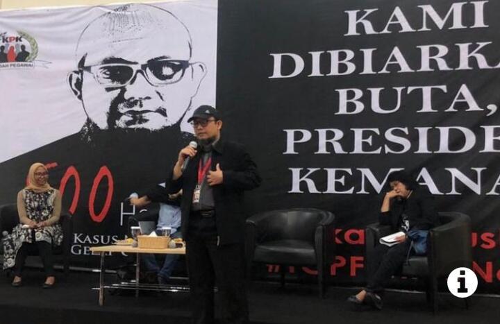 Novel Baswedan: Kalau Presiden Takut Mengungkap, Saya Sangat Sedih