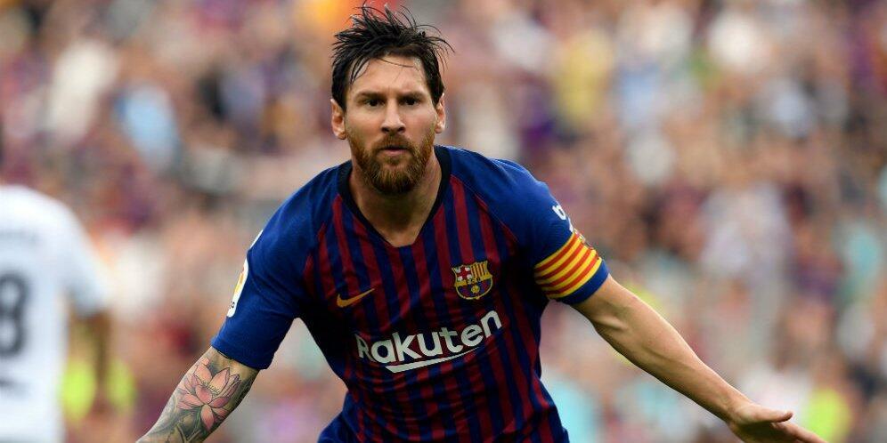 Terlihat Sedang Berlatih Bersama Tim, Messi Persiapakan Diri Lawan Inter Milan ?