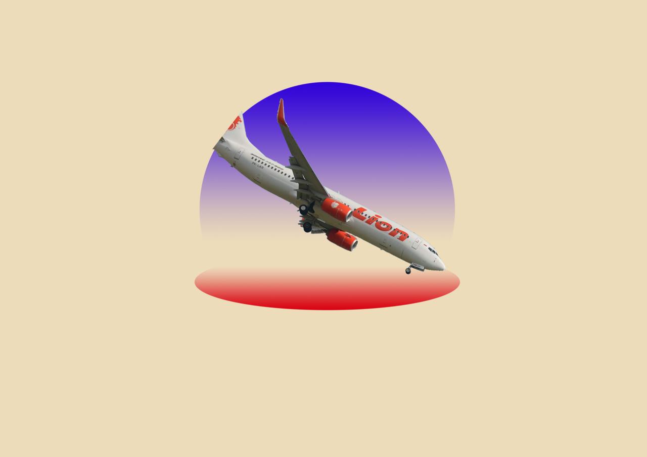 Jatuhnya Pesawat Lion Air JT-610 Sempat Dilacak Rosenschein Lewat FlightRadar24