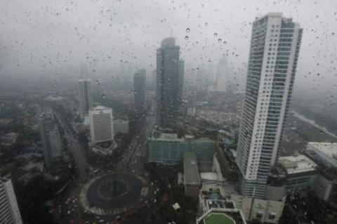 Awal November Jakarta Diguyur Hujan