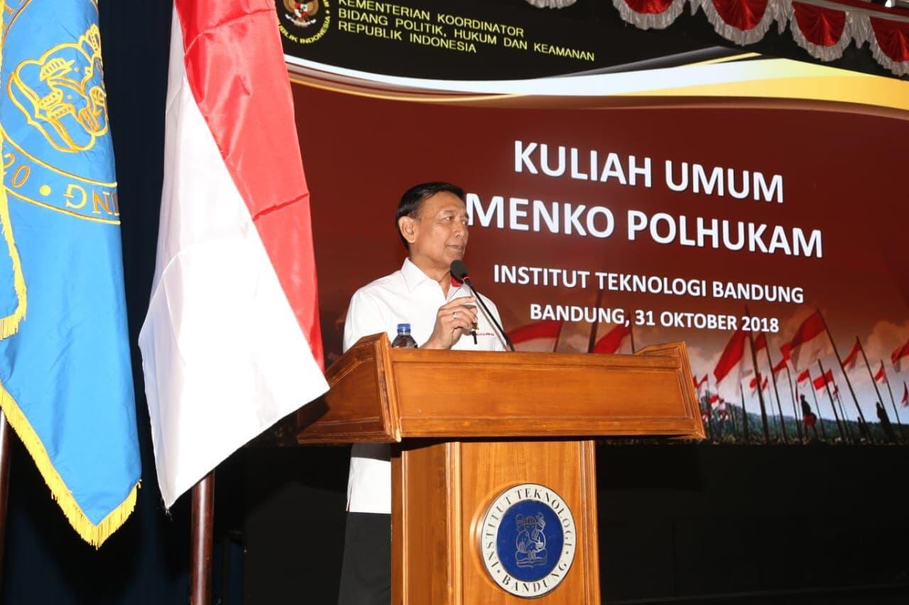 Menko Wiranto: Banyak Negara Kagumi Pancasila