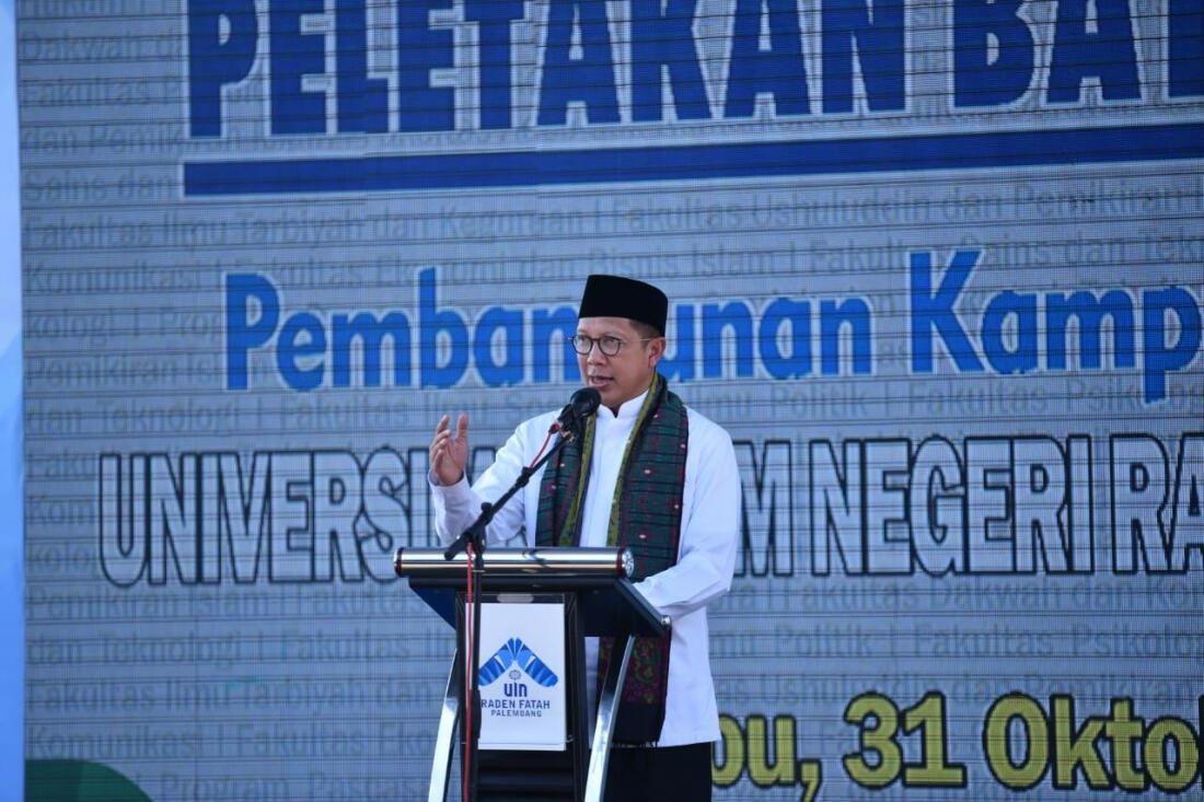 UIN Palembang Bangun Perpustakaan dan Lab Terluas di Sumatra