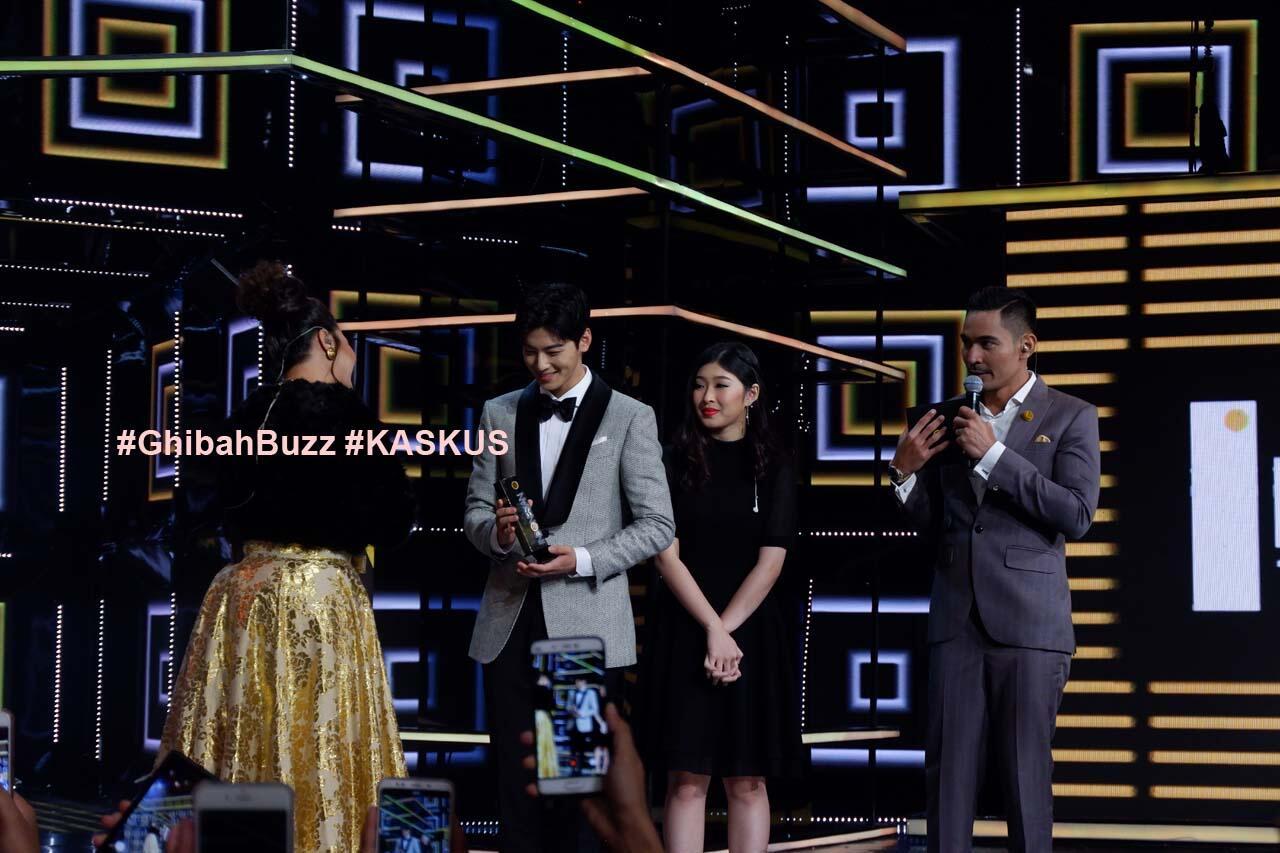 Cha Eun Woo Bikin Meriah Indonesian Television Awards 2018