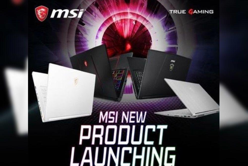 MSI Luncurkan 4 Notebook Baru Seri Prestige, Gaming & Workstation 2018