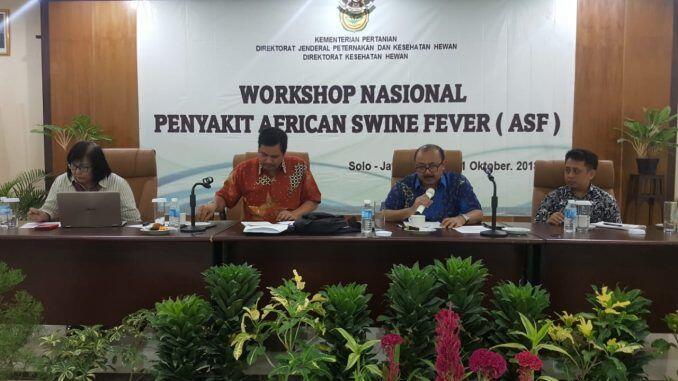 Pemerintah Waspadai Penyebaran Penyakit African Swine Fever