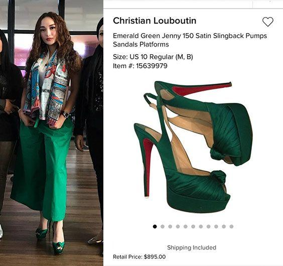 Mewah! 10 Fashion Zaskia Gotik dengan Harga Fantastis