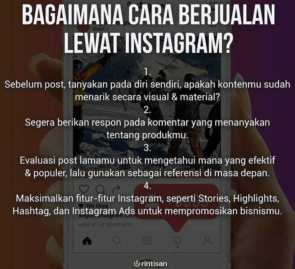 Sedang Merintis Usaha? Ikuti 7 Akun Instagram Entrepreneur Ini