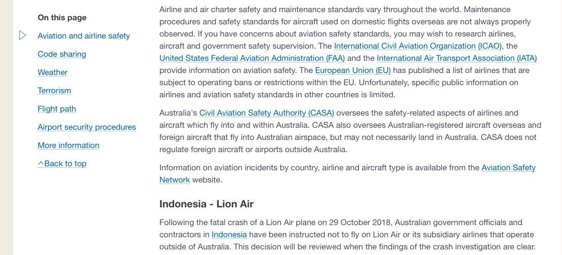 Australia Larang Pegawainya Naik Lion Air, Ini Tanggapan Menhub