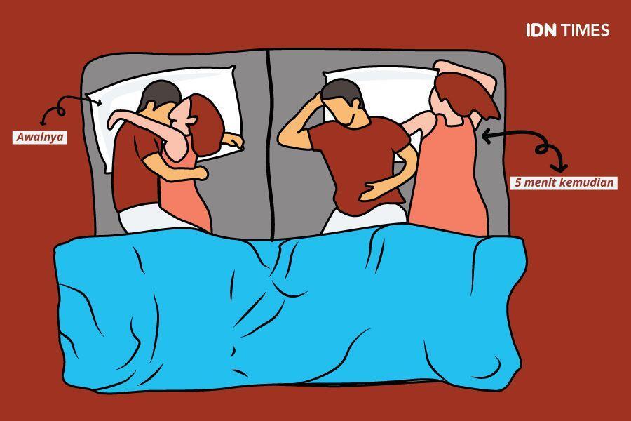 10 Pose Tidur Pasutri Ini Ternyata Cerminkan Kondisi Hubunganmu Lho!