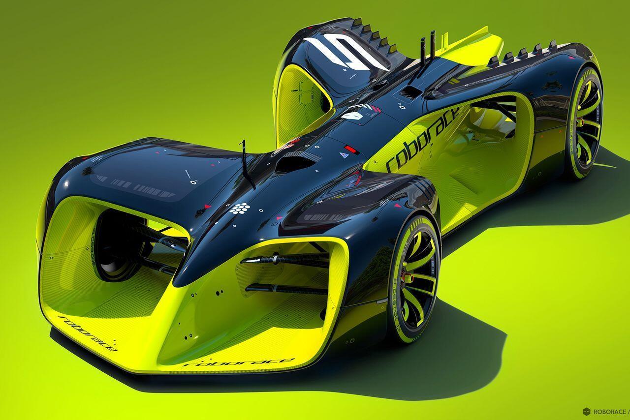 Roborace, balap robot mobil berkecepatan Formula 1!