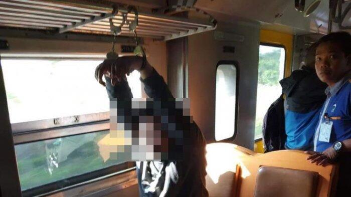 Mahasiswa Diborgol di Kereta Usai Terciduk Lecehkan Mahasiswi Berinisial KIG