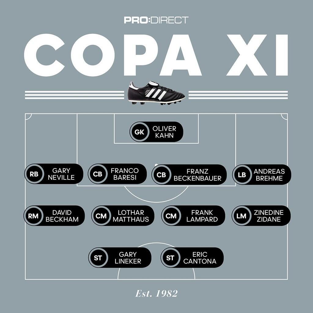 Nih Gan Sejarah Panjang Adidas Copa Sejak 1979-2018