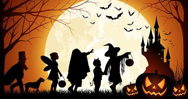 Ketika Kostum Halloween Lebih Menarik Dari Sumpah Pemuda