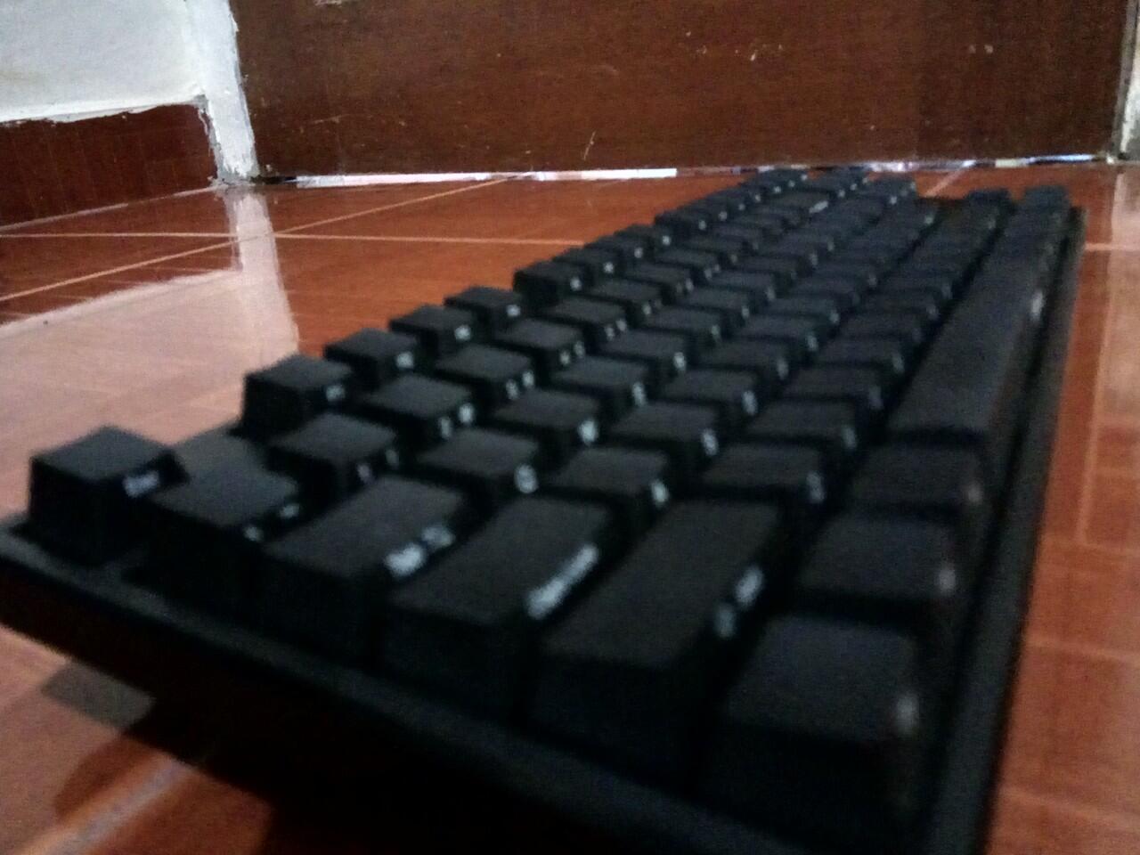 [WTS] KeyBoard Ducky One TKL Non LED (2nd) kondisi 99% + (Bonus) Rainbow Keycaps