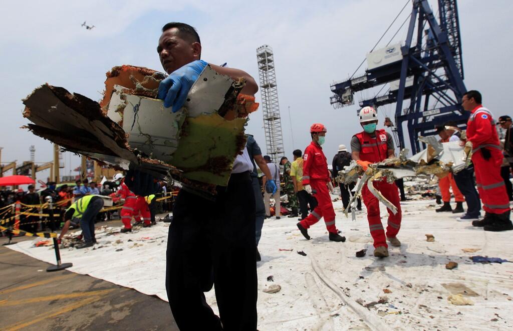 Arus Bawah Laut Samarkan Jejak Lion Air PK-LQP