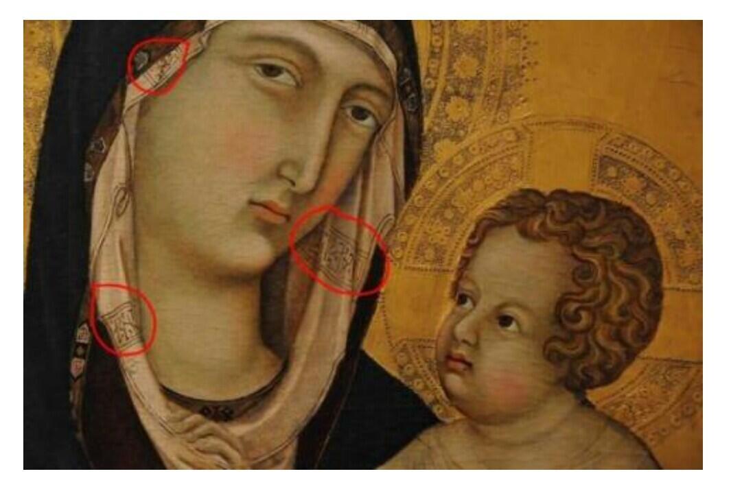 Inilah Alasan Mengapa Ada Kalimat Tauhid Di Kerudung Bunda Maria
