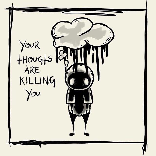 Jarang Disadari, 11 Ilustrasi Ini Mengajakmu Kenali Gejala Depresi