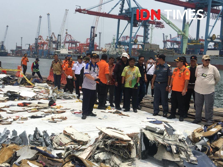 TNI AL: Bodi Pesawat Lion Air Ditemukan, Tapi Belum Bisa Diangkat