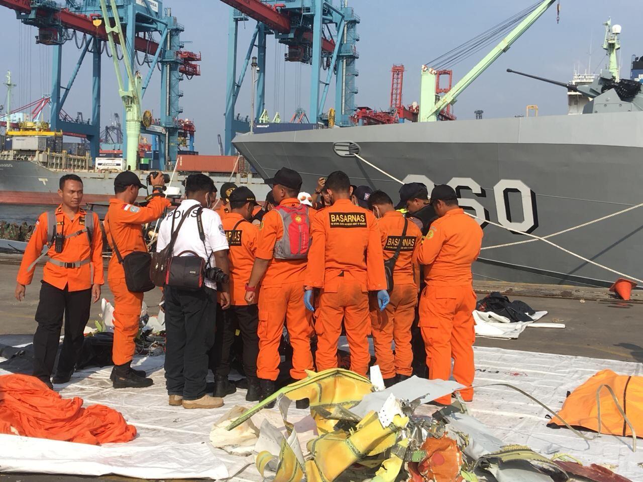 Dua Kantong Jenazah Korban Lion Air Kembali Dibawa ke RS Polri