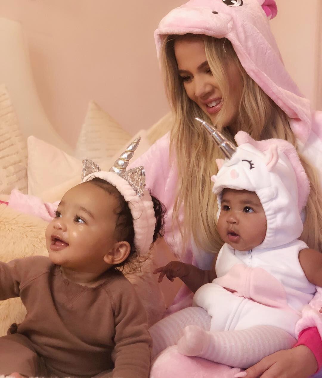 10 Potret Putri Khloe Kardashian Rayakan Halloween Party, Bikin Gemes!