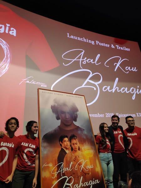 Asal Kau Bahagia: Dari Lagu Diangkat Jadi Film Rilis Trailer dan Poster Official