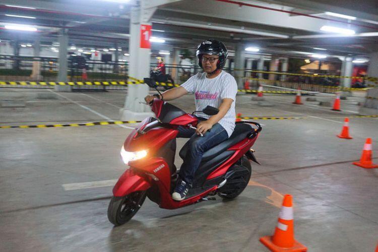 Yamaha FreeGo Pionir Skutik Murah Pakai ABS