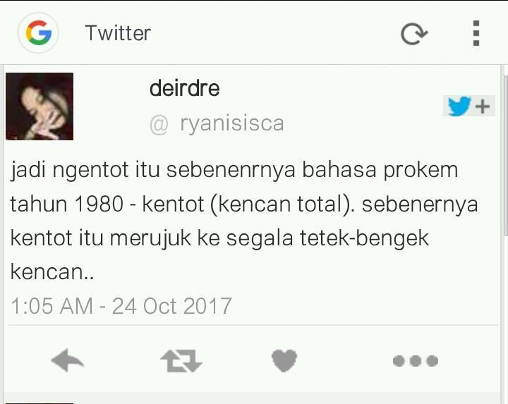 ASAL MUASAL KATA-KATA TOXIC / KASAR DI INDONESIA