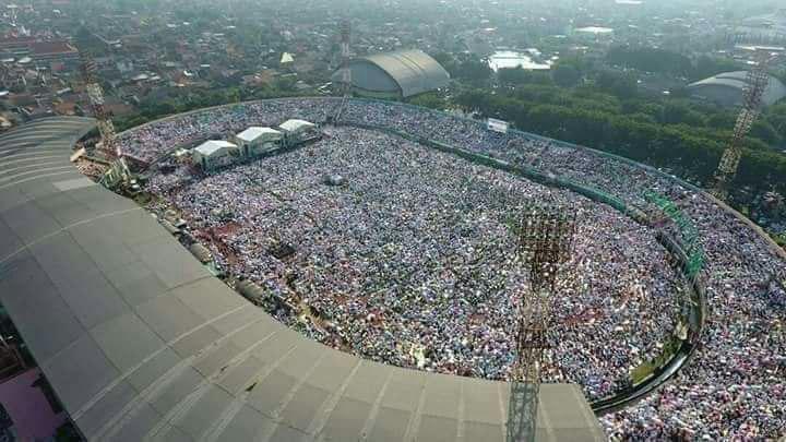 Hardik Prabowo pada Media Bukti 212 Politis