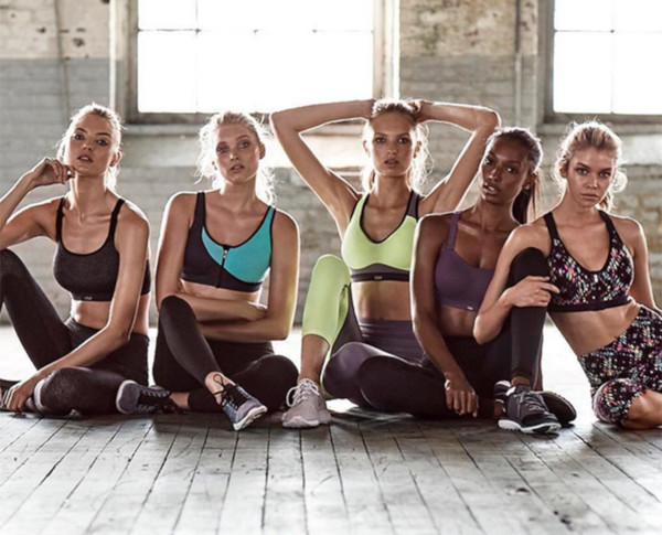 Menu Workout Model-model Victoria's Secret