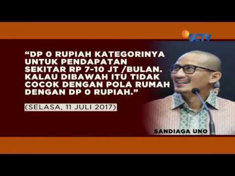 Jokowi-Ma'ruf Ogah Tiru Program Rumah DP Nol Rupiah