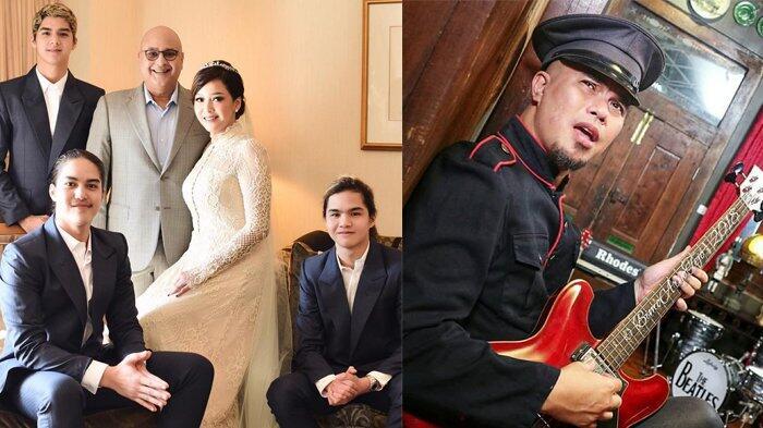 Tak Mau Kalah dari Maia Estianty, Ahmad Dhani Unggah Foto Keluarga Bersama Mulan Jame