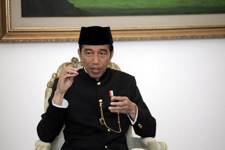 Jokowi: Syachrul Anto Berkontribusi Besar Mengevakuasi Lion