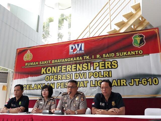 3 Jenazah Penumpang Lion Air Kembali Teridentifikasi