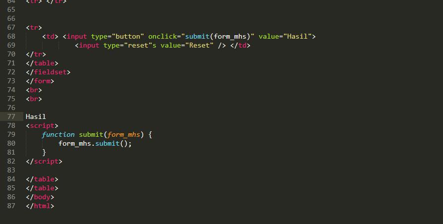 [Ask] Input & Output Form Html+JS