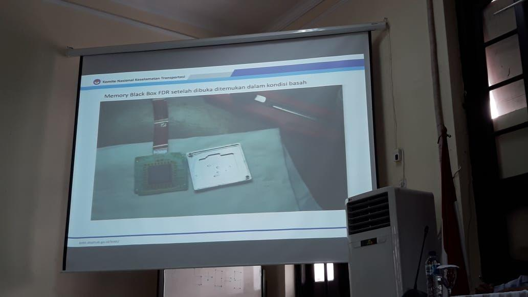KNKT Pastikan Memory Card Black Box Lion Air JT 610 Aman